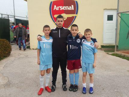 Три деца от школата на РД Спорт взеха участие във футболен лагер в Гърция за трети път